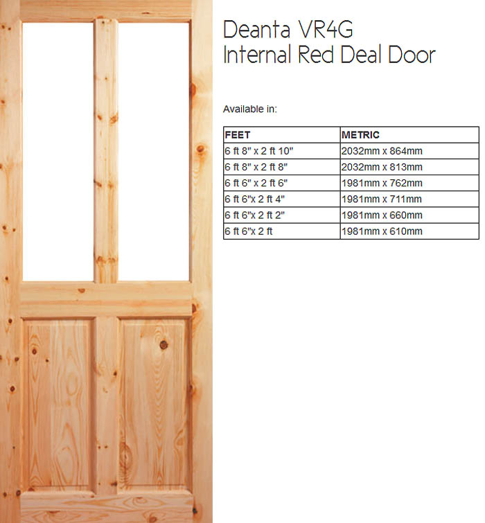 Quality Irish Made Red Deal Doors Doras Door Providers
